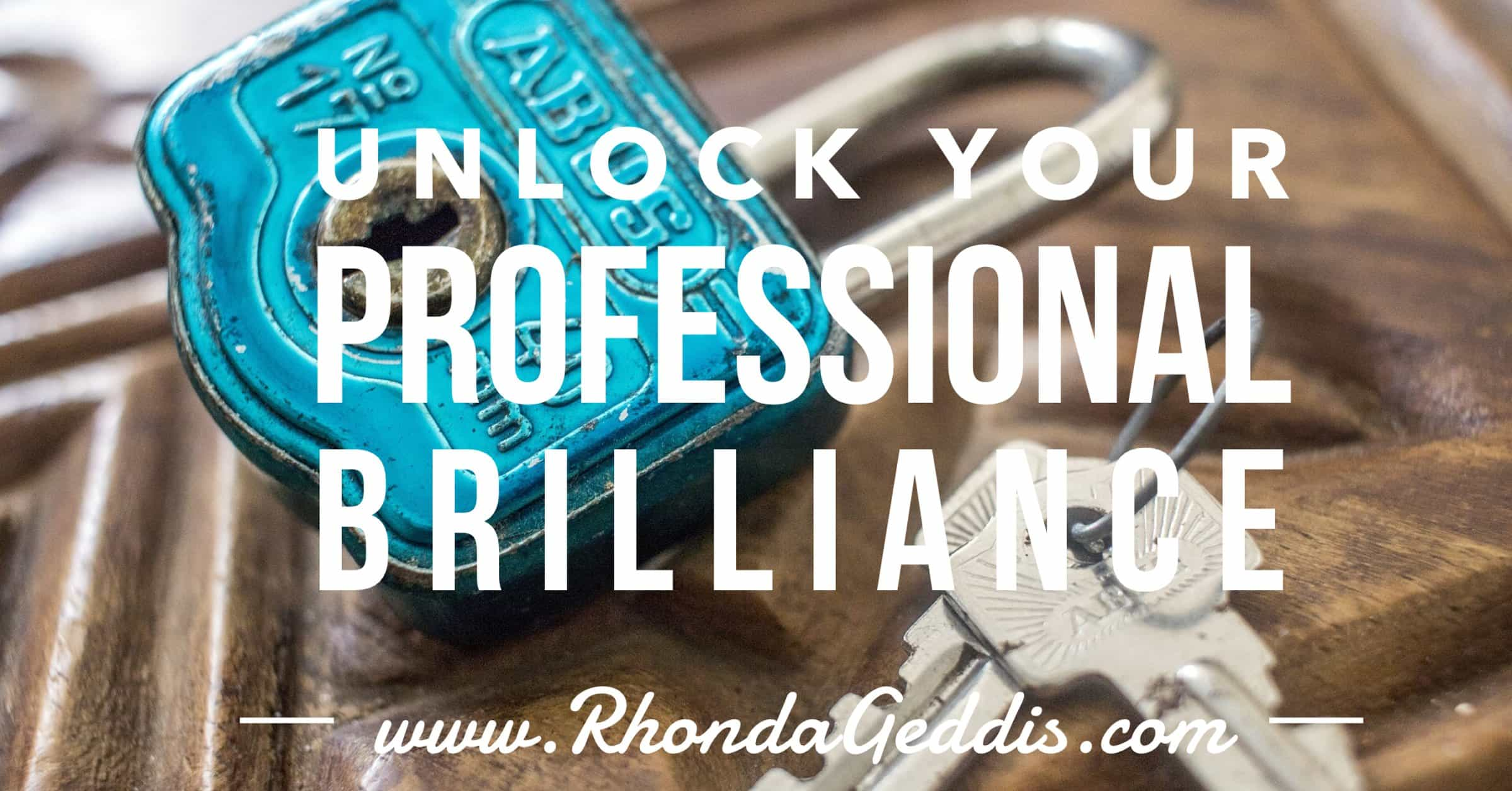 Unlock Your Professional Brilliance